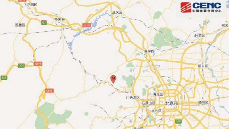 北京两会遇地震 市内震感强烈