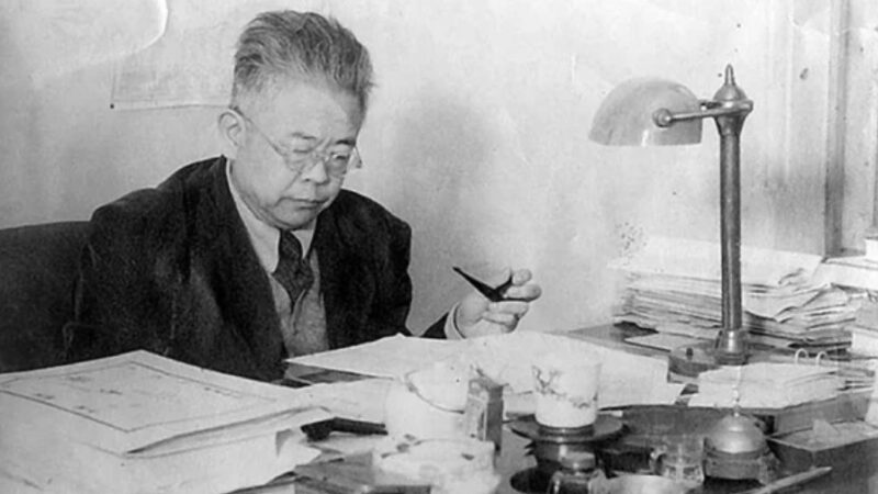 北大校长傅斯年访问延安 发现中共反自由反民主(图)