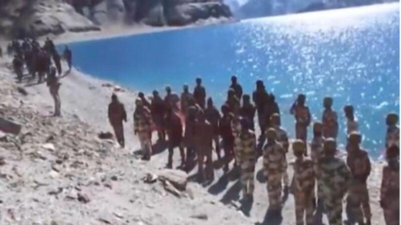 中印两军对峙画面曝光 川普表示愿出面调停