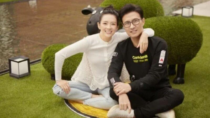 結婚5周年巧遇母親節 章子怡汪峰公開曬恩愛
