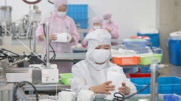 中国50万劣质口罩输美 遭美国方面正式起诉