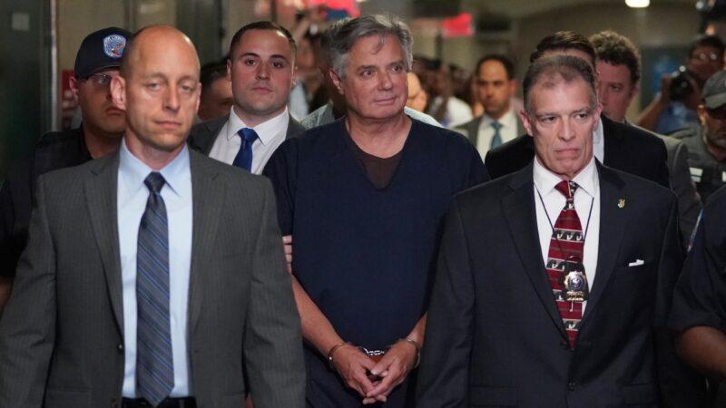 擔憂染中共病毒 前川普選戰主席回家服刑