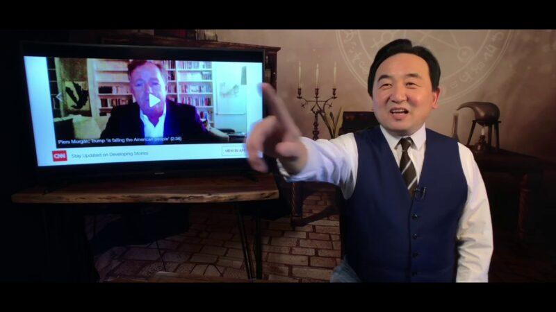 《石涛聚焦》川普死对头CNN主持 接连被中共病毒