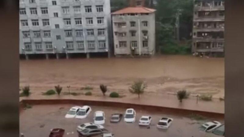 重庆恐怖通知曝光:4楼以下做好防洪准备