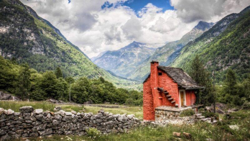 """现实版""""小人国"""" 就在这个古老村庄(图)"""