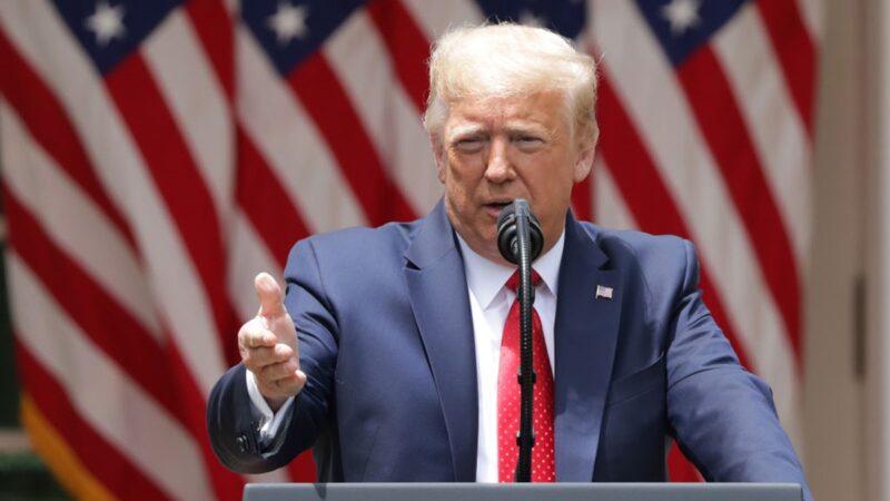 中共審議國安法 川普警告:「美中脫鉤」是政策選項