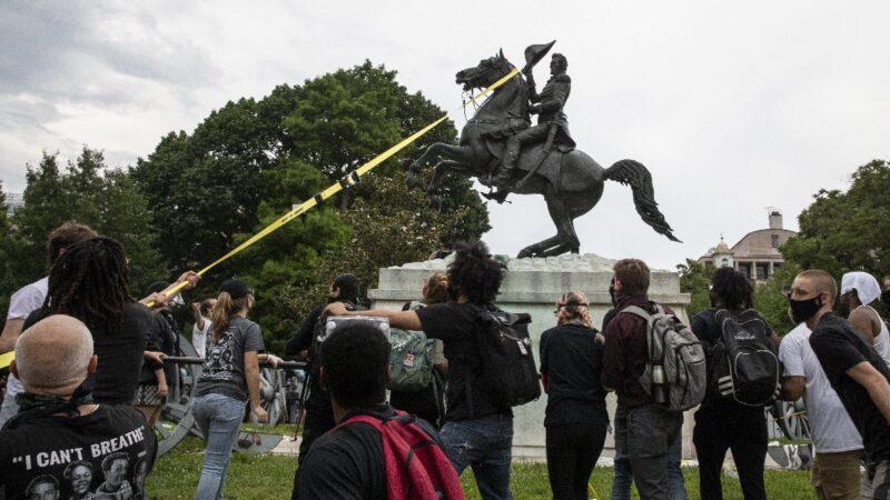 川普警告不會容忍華府「自治區」 毀雕像最高可判10年