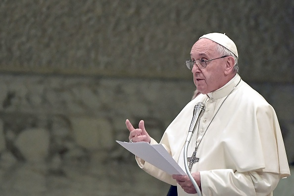 遭中共審查?教宗演講臨場突刪香港議題