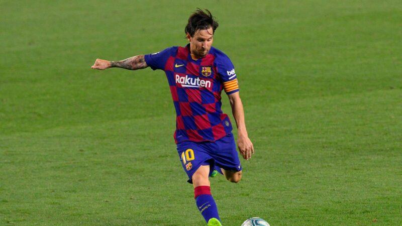 踢进生涯第700球 梅西史上第七人