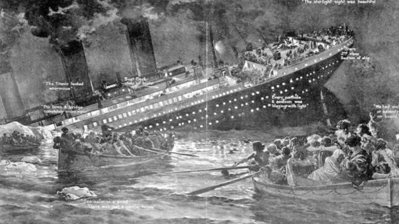 「傳奇女子」鐵達尼號事件奇蹟生還!3次船難全都死裡逃生