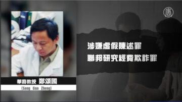 隐瞒千人计划 华裔学者回国途中被捕