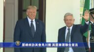 墨總統訪美會見川普 美墨簽署聯合宣言