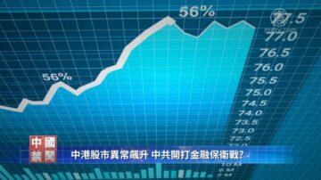 【禁闻】中港股市异常飙升 国家队进入打金融保卫战?
