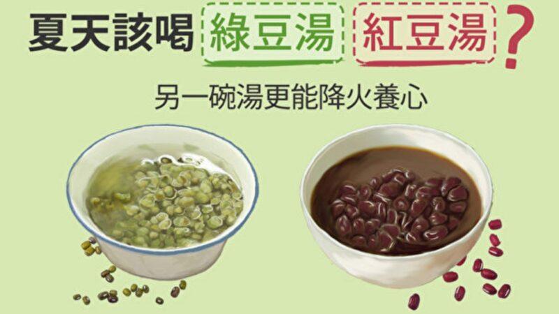 夏天喝綠豆湯、紅豆湯?另一碗湯更能降火養心