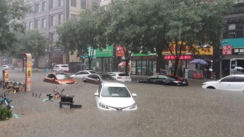安徽黄山遭遇百年大洪水 有人睡梦中被砸死(视频)