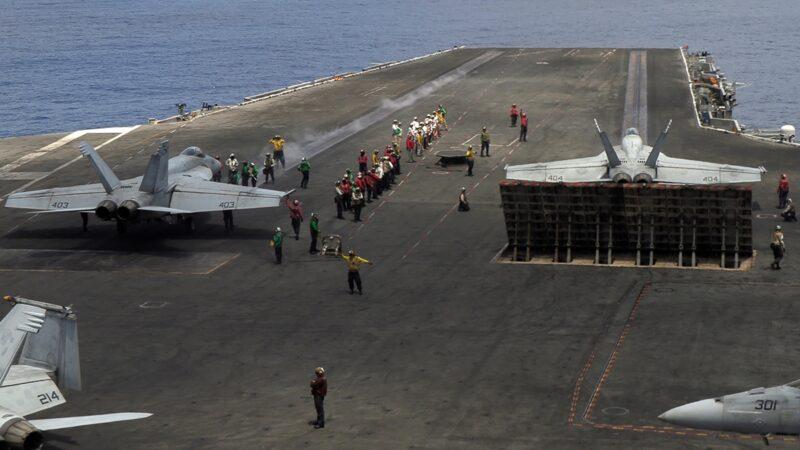 【役情最前线】美中南海同时军演 航母战阵对峙