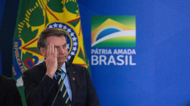 漠視中共病毒 巴西當局不要求與總統接觸者隔離