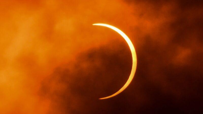 日食带横贯中国 李淳风预言:习失权 中共亡