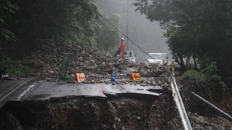 日本九州降下惊人雨量 熊本罹难者增至41人