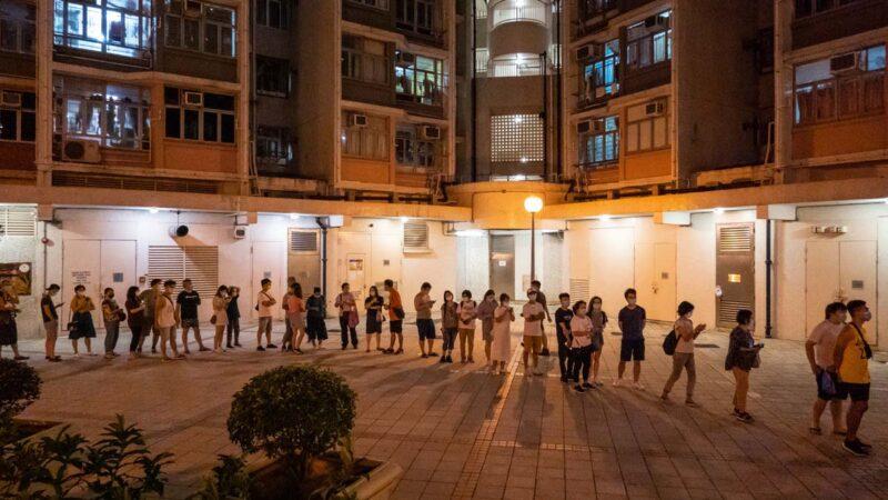 中共恐嚇無效 港民主派初選首日23萬投票遠超預期