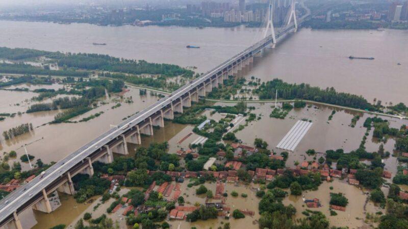 最大洪峰将至 受访市民:周边6区分洪保武汉主城