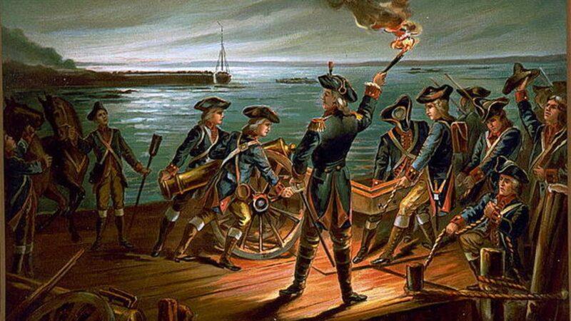1776年 东河上的那场白雾