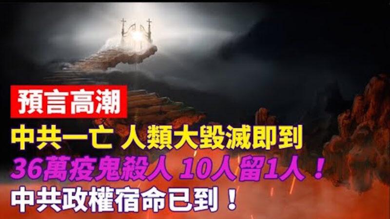 预言高潮:中共政权宿命已到!36万疫鬼杀人10人留1人!