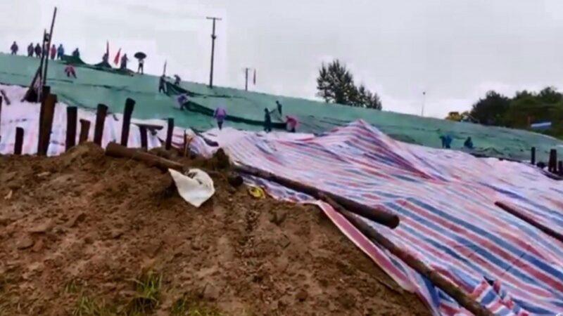 湖北水庫驚現滲水變形 當局急撤3萬人