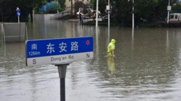 武漢遇史上最強暴雨 湖北多地拉響暴雨紅色預警