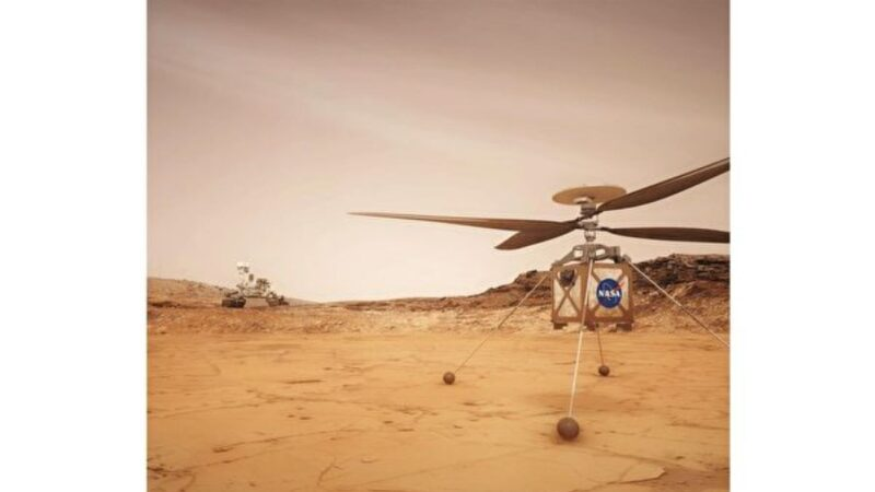 NASA说明火星直升机将怎样工作