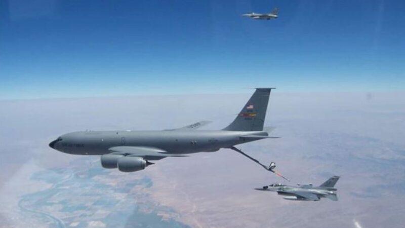 罕见!美国首次公布台湾F-16飞行员在美受训照片