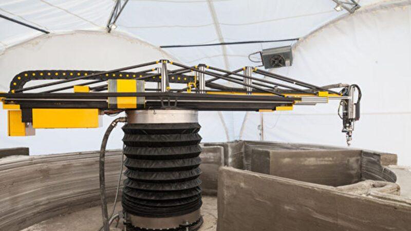 歐洲最大3D列印機建2樓房屋 抗壓強度更佳