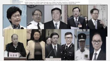 冻结资产和禁止交易 美国制裁11名中港高官