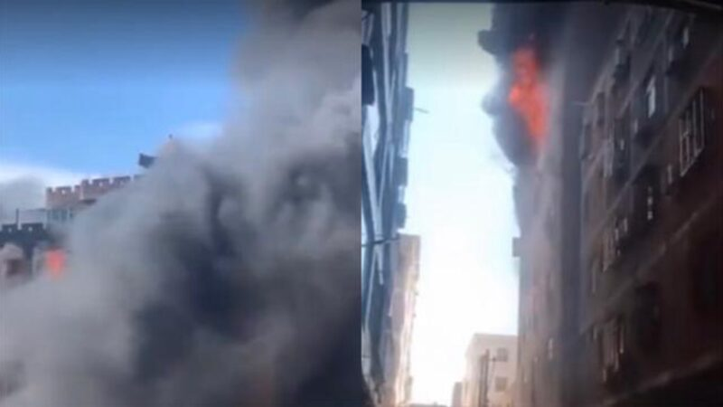 福建晋江7层高楼厂房火灾 至少8人死亡