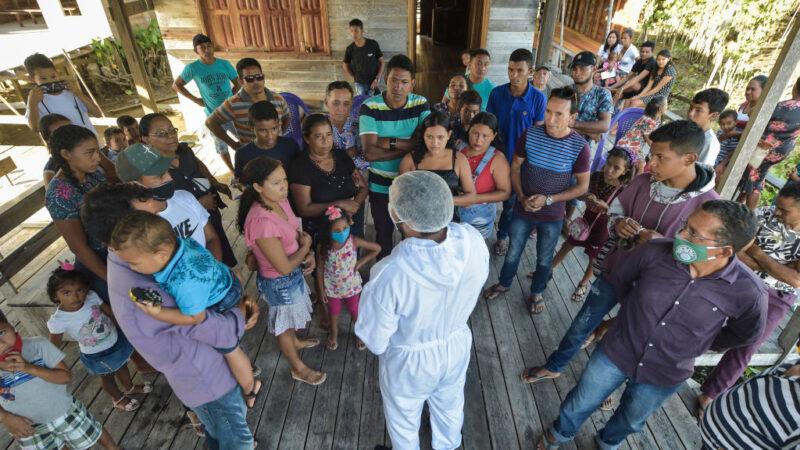 巴西疫情蔓延内地 染疫新增5.2万例