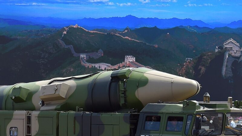 日媒:美军证实 中共向南海发射4枚飞弹