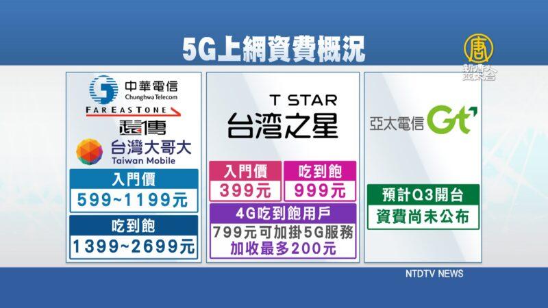 5G开台再一家 NCC:盼台湾成产业关键力量