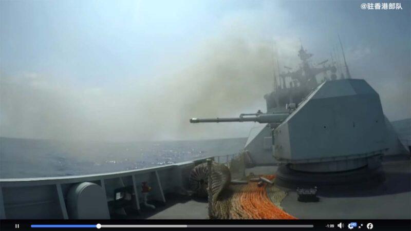 中国沿海连续10场军演 专家:只是演戏