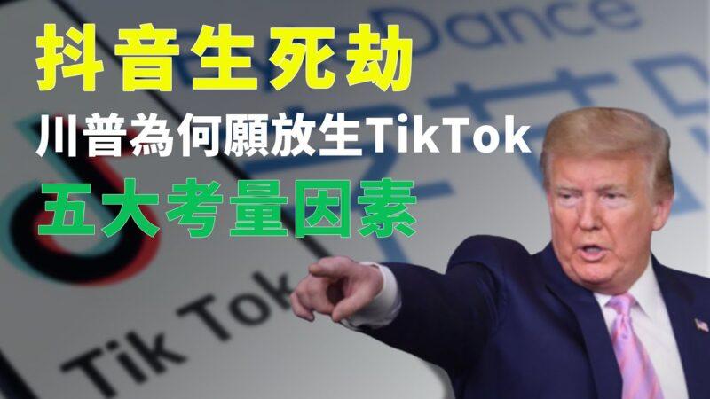 秦鹏:为何愿意放生TikTok?川普的5重考量