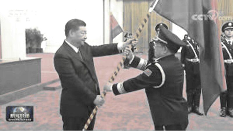 """习接掌国务院""""刀把子"""" 授旗式不见李克强"""