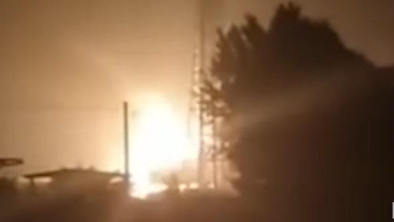 河南化工厂大爆炸 微博急删现场视频
