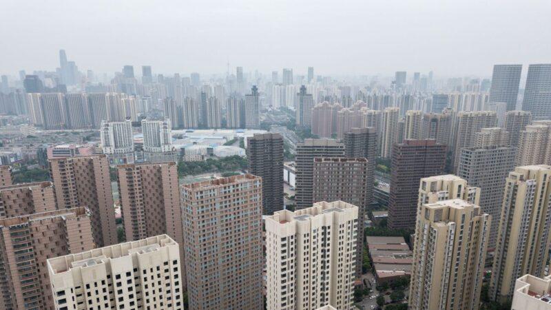 中國27城二手房房價跌回一年前