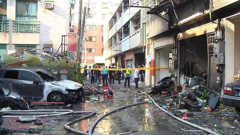 台中東海商圈氣爆疑人為 火球衝對街釀4死1傷
