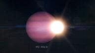天文奇观!一颗行星绕死星运行 诡异画面曝光