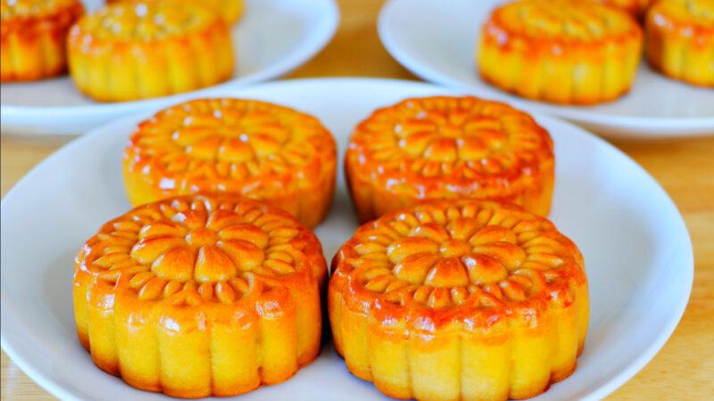 【美食天堂】红莲蓉月饼的做法~中秋节快乐!家常料理食谱 一学就会