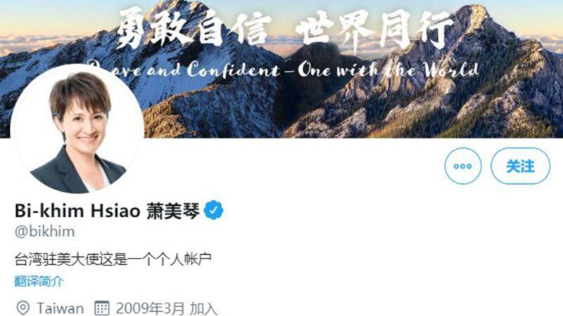 台灣駐美代表變大使?蔡英文巧妙力挺