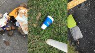 街头散落口罩手套 市长发起清洁运动