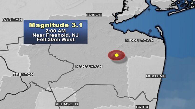 罕见地牛翻身 新泽西州3.1地震民众吃惊