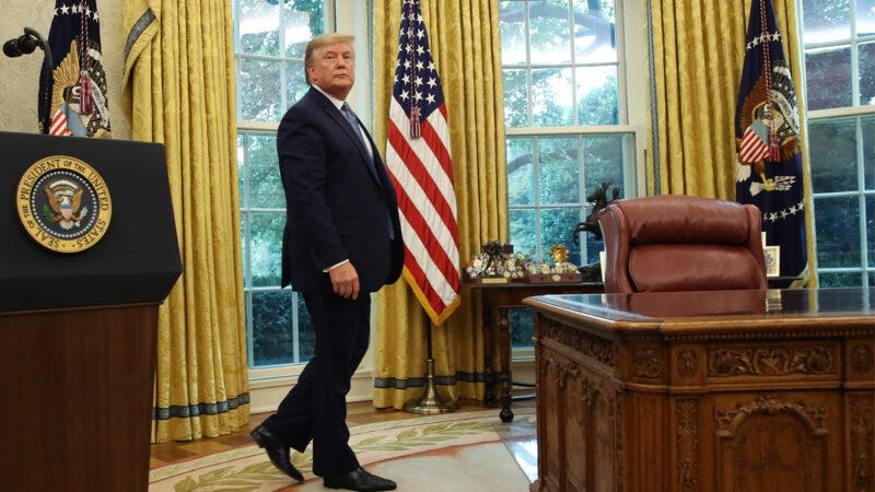 白宫发言人:川普已捐140万薪水 避税说纯属抹黑