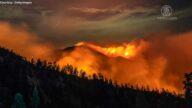 洛縣野火延燒6萬英畝 煙塵飄散空污嚴重
